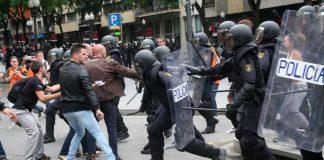 Las disculpas del Gobierno por las cargas policiales en Cataluña indignan a los agentes. RTVE