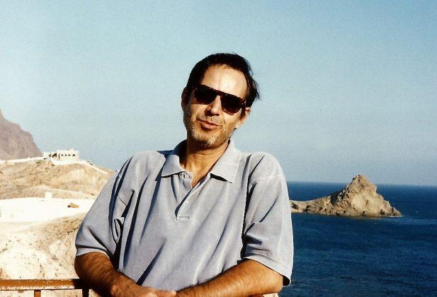 Hace unos años, en el cabo de Gata (Almería).