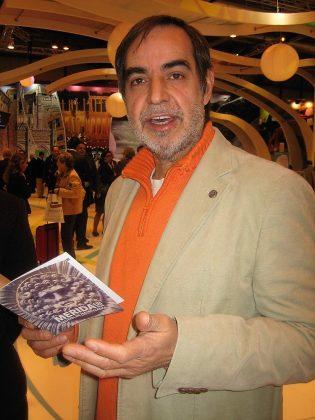 En 2007, en Fitur, representando al Festival de Mérida.