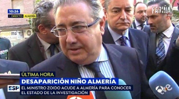 ¿Qué pinta Zoido en Almería? ANTENA 3