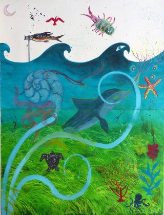 Otro fragmento del mural.