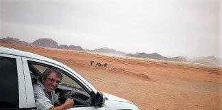 Álvaro Planchuelo en el Wadi Rum (Jordania)