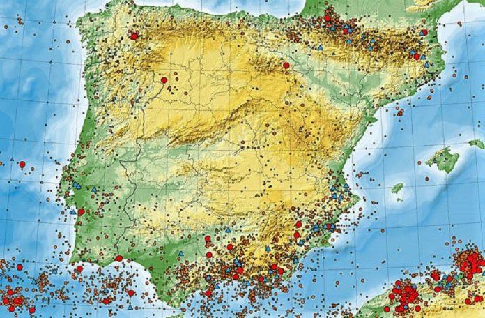Nos han llegado adhesiones de toda España. Este mapa sísmico simboliza el próximo hundimiento electoral del PP por discriminar a los pensionistas. RTVE