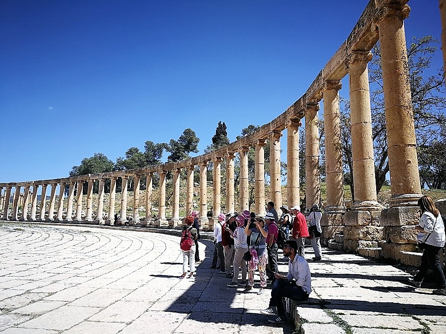 Jerash (Jordania).