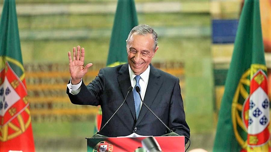 Marcelo Rebelo de Sousa, presidente de Portugal. RTVE