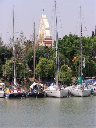 La portada de la Feria, vista desde el río. PROPRONews