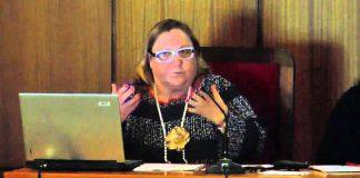 La profesora María Inés Cobo. YOUTUBE