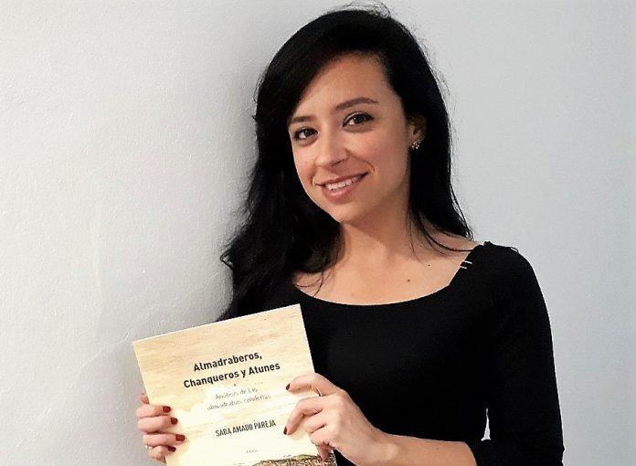 Sara Amado, en la presentación de su último libro.