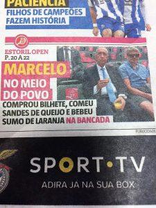 Portada del periódico Sport.
