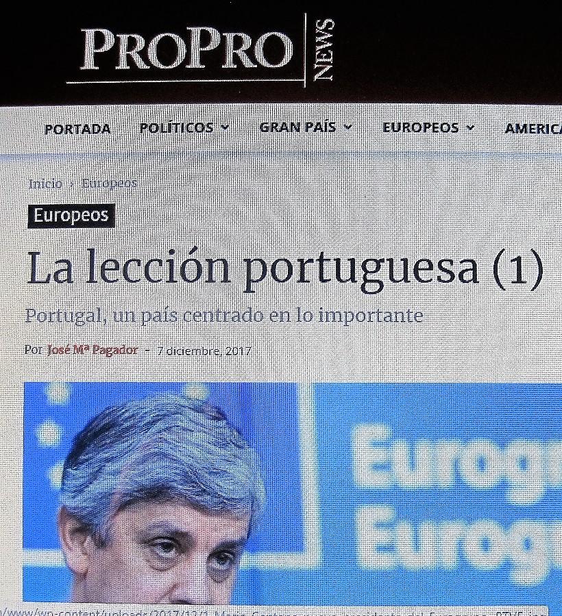 PROPRONews, 7 de diciembre de 2017. PROPRONews