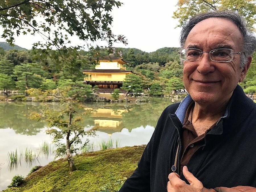 Blas Curado, recientemente en Kioto, Japón.