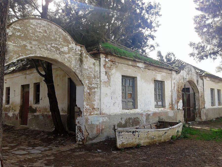 Imagen de 2015, del poblado almadrabero de Sancti Petri. SARA AMADO
