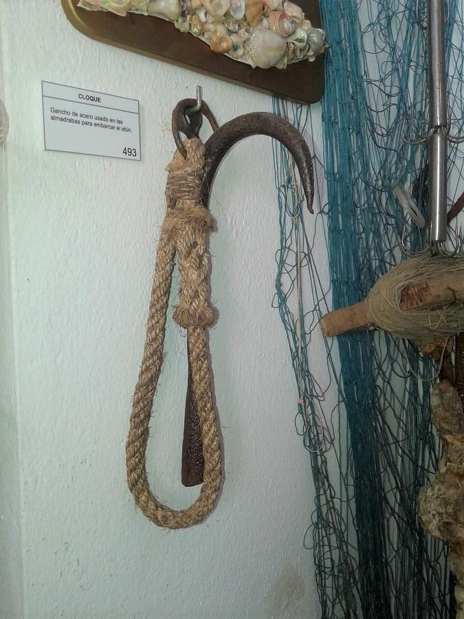 Bichero expuesto en el Museo Raíces Conileñas.