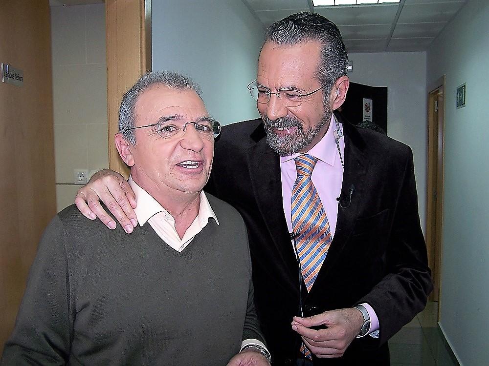Con Antonio Guerra, un verdadero héroe, antes de la entrevista. PROPRONews