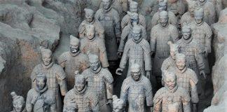 Guerreros de terracota de Xian. J.M. PAGADOR