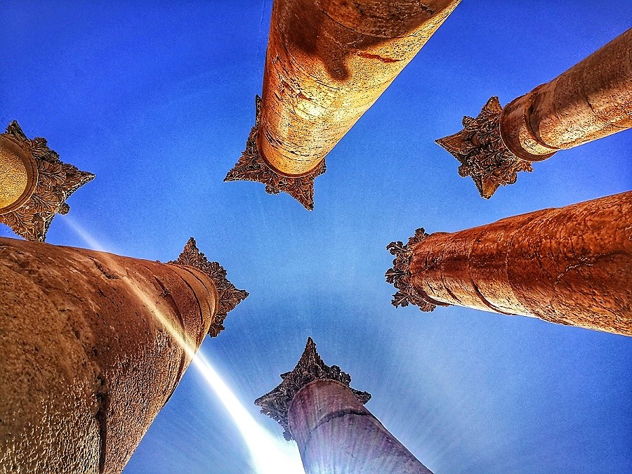 Jerash, la ciudad romana mejor conservada del mundo.