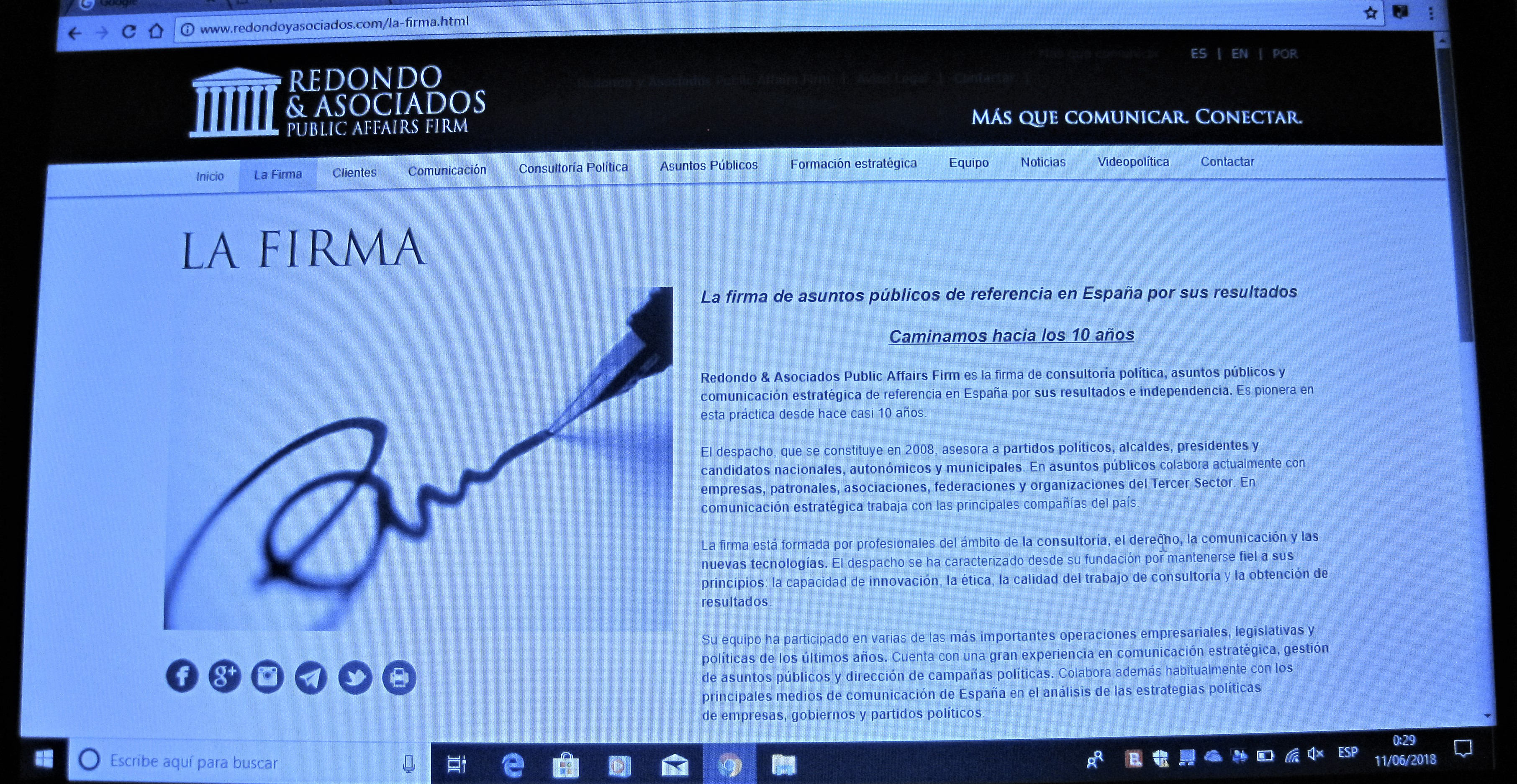 2b Después de alterar la web habla de esas operaciones de forma genérica, sin referirse ya a España y Portugal. PROPRONews