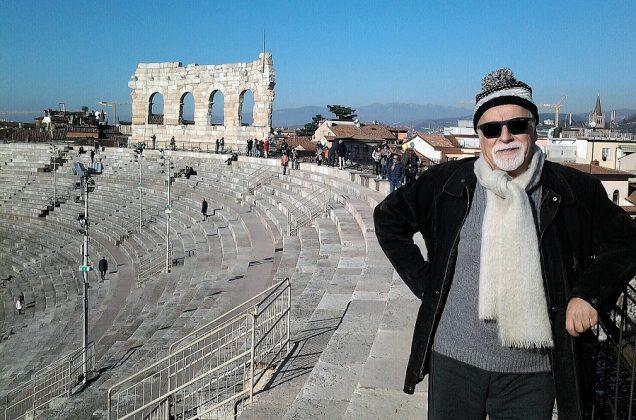 En la Arena de Verona.
