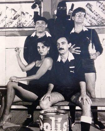 Una escena de La loca carrera del árbitro, de Mediero, dirigida por Villafaina.