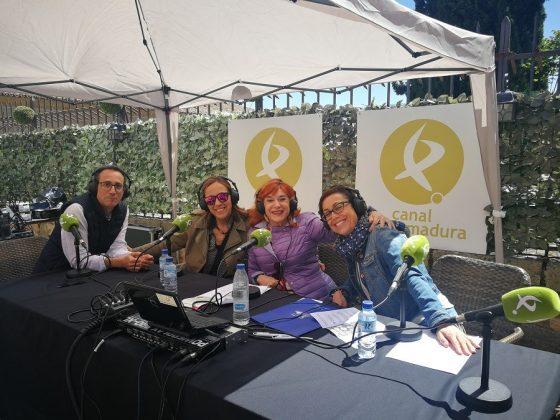 Entrevista en Canal Extremadura.