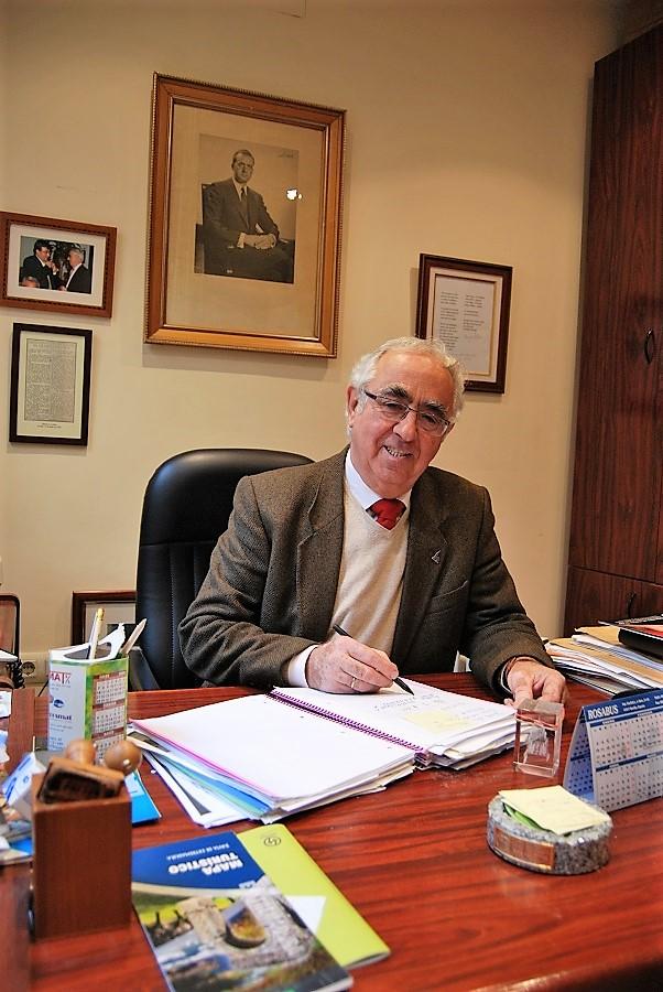 En su despacho de la Casa de Extremadura en Sevilla. PROPRONews