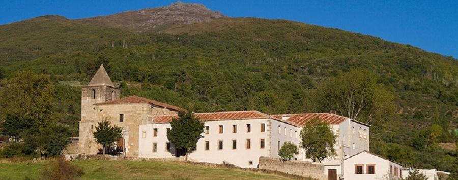 Hospedería Sierra de Gata, en un edificio recuperado por iniciativa de Gonzalo Martín.