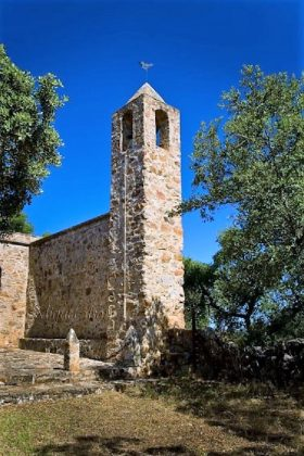 Ermita de Los Santitos, de Cordobilla de Lácara. MIGUEL ALSÁN