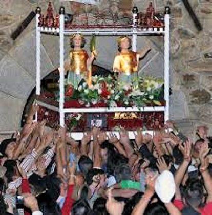 Romería de Los Santitos, de Cordobilla de Lácara.
