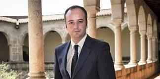 Iván Redondo en la presidencia de la Junta de Extremadura, de la que jamás fue consejero.