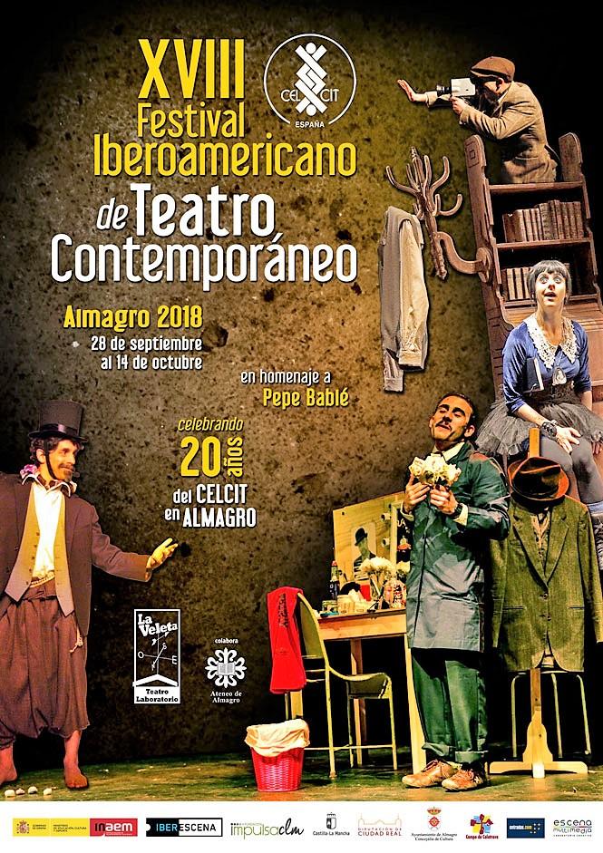 Cartel del Festival, que acaba de empezar en la ciudad manchega.