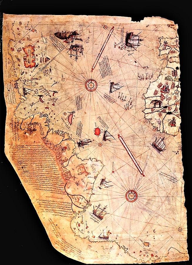 Mapa de Piri Reis.