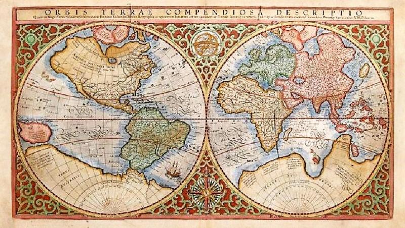 Mapa de Mercator.
