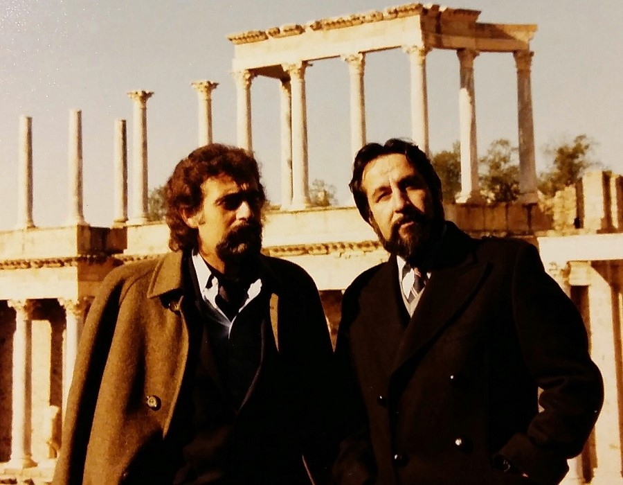 Molina y Villafaina en Extremadura, en las I JORNADAS DE TEATRO Y CINE HISPANOAMERICANO EN EXTREMADURA, organizadas por el segundo.