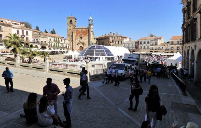 Plaza mayor de Trujillo, el espléndido marco de la Cervezada. PROPRONews