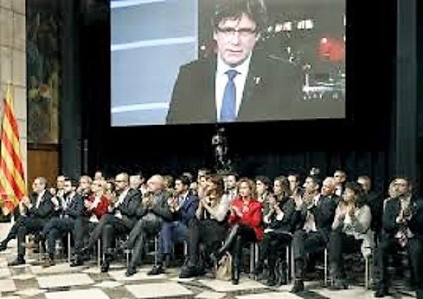 La creación de un Govern paralelo vuelve a justificar la aplicación del 155. RTVE