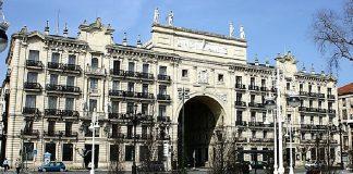 Matriz del Banco de Santander, primera entidad financiera española.