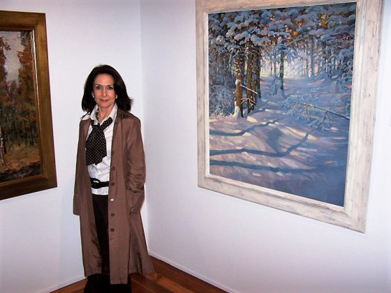 En una de las exposiciones museísticas de su colección, en este caso, en los Reales Alcázares de Sevilla. J.M. PAGADOR