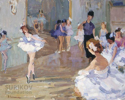 Clase de ballet. Chernikova