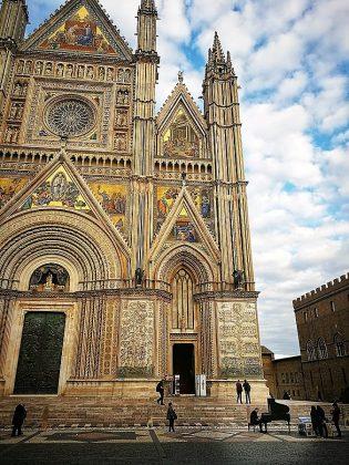 El magnífico duomo de Orvieto.