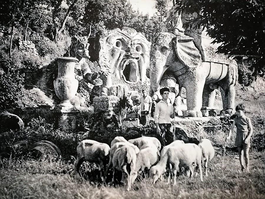 El parque estuvo abandonado muchos años, hasta que en 1956 la familia Bettini lo recuperó y lo abrió al público.
