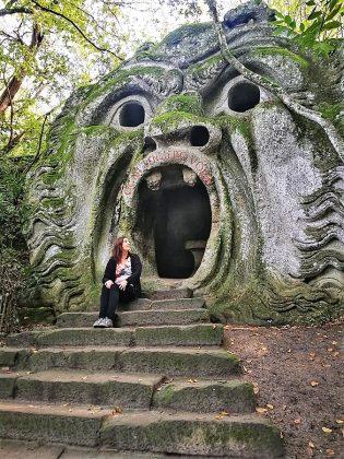 Parque de los monstruos.