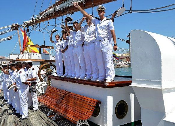 Despedida marinera. J. M. PAGADOR