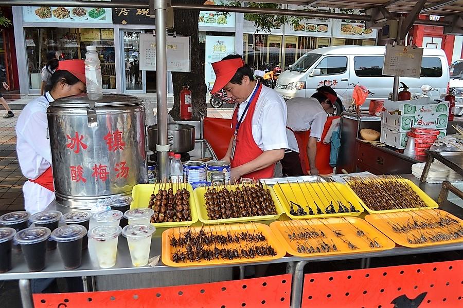 Los chinos tienen especial habilidad para convertir cualquier cosa en alimento. PROPRONews