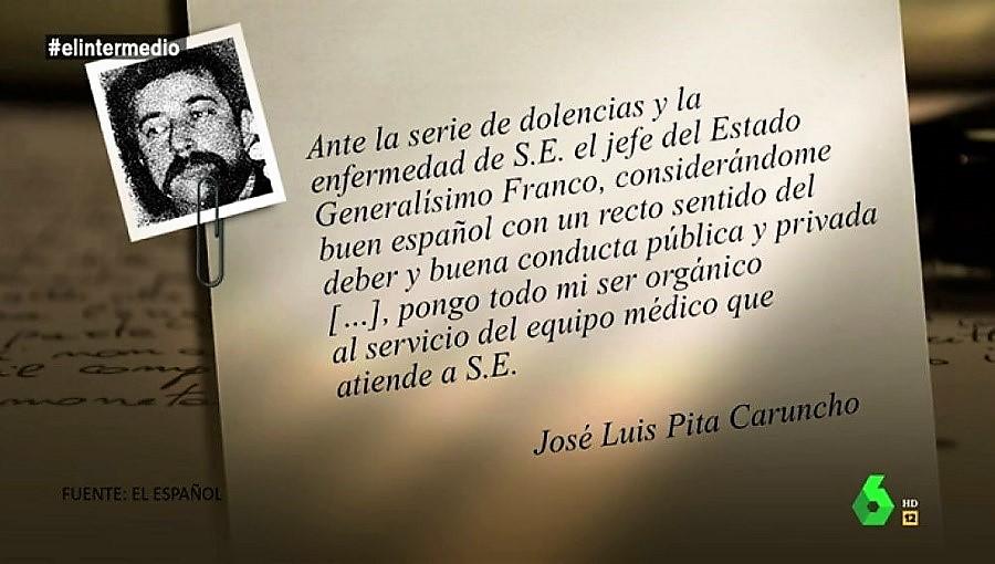 El Intermedio también se hizo eco de la oferta de Pita Caruncho. LA SEXTA