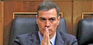 Pedro Sánchez, tras la votación de los Presupuestos. RTVE