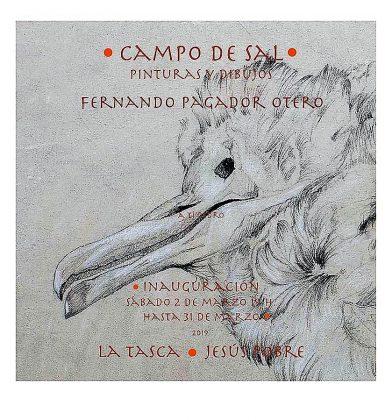CAMPO DE SAL - PINTURAS Y DIBUJOS DE FERNANDO PAGADOR OTERO