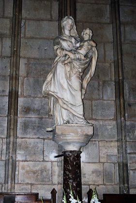 La Virgen de los Estudiantes, posiblemente destruida. J.M. PAGADOR