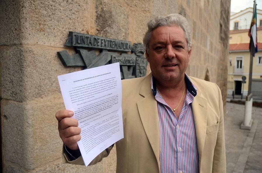 2012, petición de las cuentas del despilfarro a través de nuestro abogado, que Monago siempre se negó a facilitar. PROPRONews