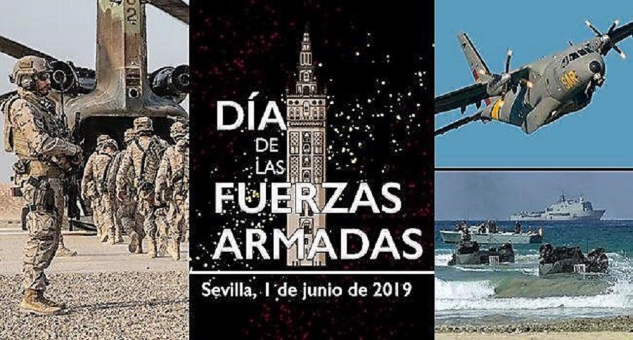 Día de las Fuerzas Armadas, Sevilla