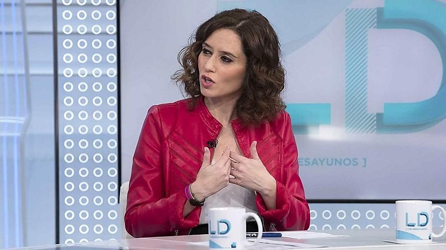 Isabel Díaz Ayuso necesita un sonajero. RTVE
